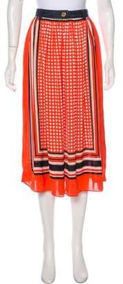MICHAEL Michael Kors Printed Maxi Skirt