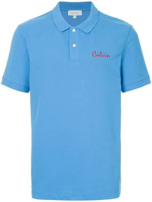 CK Calvin Klein embroiderd Calvin polo shirt