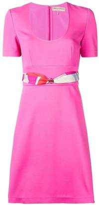 Emilio Pucci belted T-shirt dress