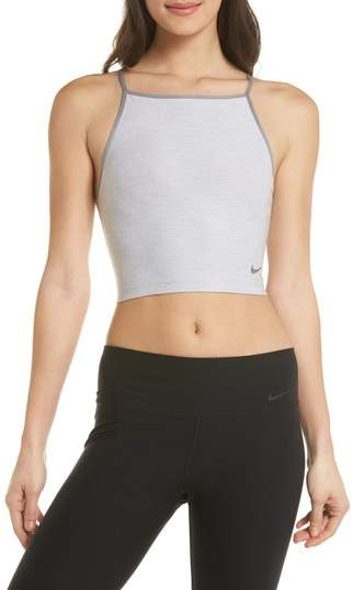Power Dry Cropped Tank