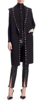 Alexander Wang Splittable Shawl Collar Trench Coat