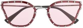 Valentino Eyewear crystal embellished sunglasses