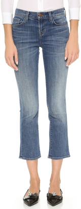 J Brand Selena Cropped Boot Cut Jeans $238 thestylecure.com