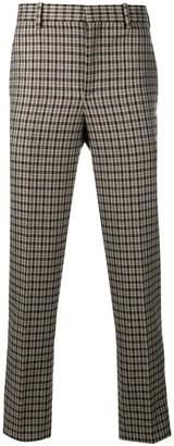 Neil Barrett gun club check trousers