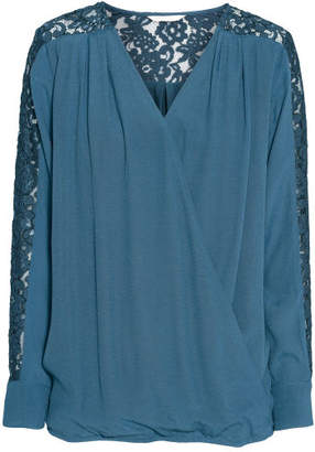H&M MAMA Nursing Blouse - Blue