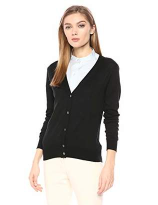 Theory Women's Button UP Vneck Cardigan,S