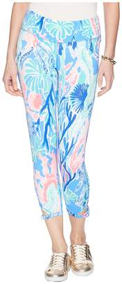 Lilly Pulitzer Luxletic Gemma Weekender Cropped Legging Women's Casual Pants
