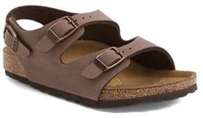 Toddler Boy's Birkenstock 'Roma' Sandal $59.95 thestylecure.com