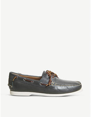 Polo Ralph Lauren Merton leather boat shoes