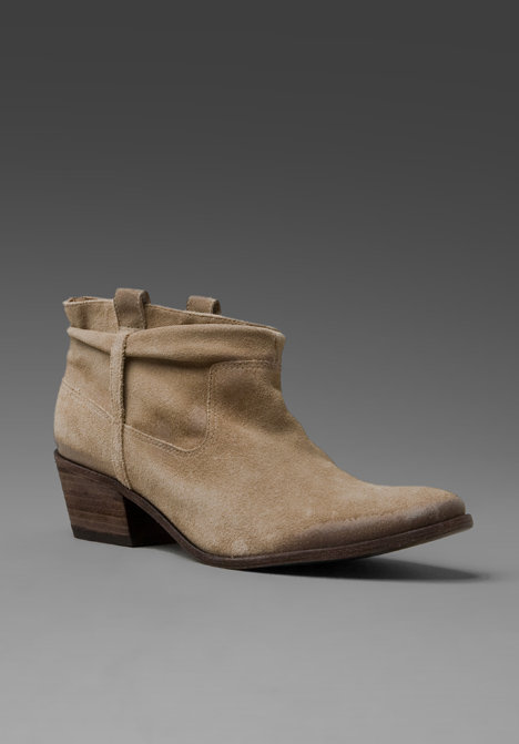Joie Elvis Washed Suede Bootie