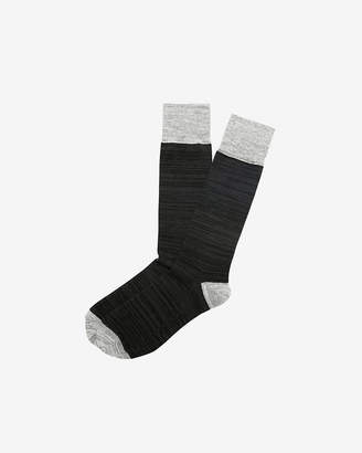 Express Space Dye Dress Socks