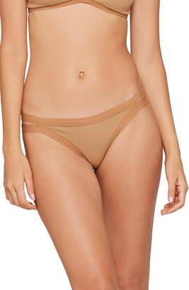 L-Space L Space Ridin' High Charlie Classic Ribbed Bikini Bottoms