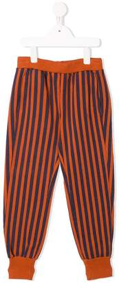 Bobo Choses striped tapered trousers