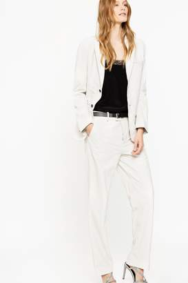 Zadig & Voltaire Peter Leather Pants