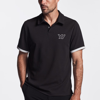 James Perse Y/OSEMITE PERFORMANCE PIQUE EMBROIDERED POLO