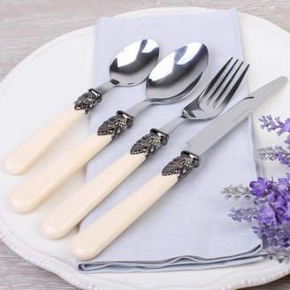 Dibor 24 Piece Antique Cream French Cutlery