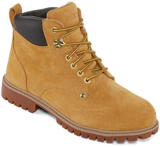 M·A·C Big Mac Mens Spokane Slip Resistant Work Boots Lace-up
