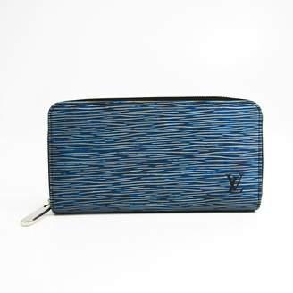 Louis Vuitton Denim Epi Leather Zippy Wallet (SHA-27958)