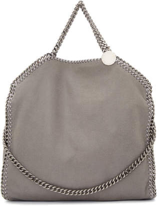 Stella McCartney Grey Three-Chain Falabella Tote