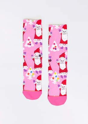 Stance Santipaws Socks | Wildfang Santipaws Socks - PINK - OS
