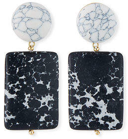 Lele Sadoughi Keepsake Stone Earrings