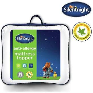 Silentnight Anti-Allergy Mattress Topper - Single