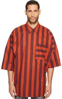 Vivienne Westwood Striped Freedom Shirt Men's Clothing