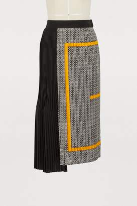 Givenchy Crepe de chine midi skirt