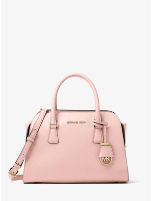 Harper Medium Leather Satchel $358 thestylecure.com