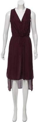 Robert Rodriguez Silk Swiss Dot Dress
