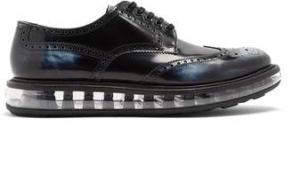 Prada Bubble-midsole leather brogues