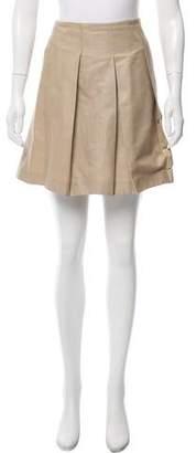 Valentino Paneled Mini Skirt