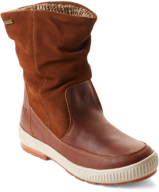 Cougar Brown Willow Slouchy Leather Winter Boots
