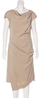Michael Kors Virgin Wool Midi Dress w/ Tags
