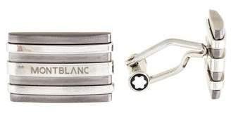 Montblanc Striped Cufflinks