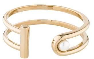 Jason Wu Faux Pearl Two Bars Bracelet