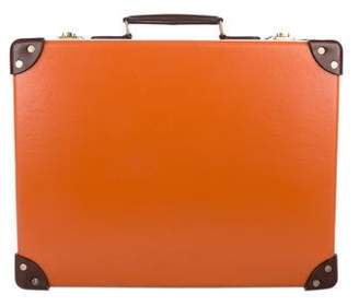 Globe-trotter Bicolor Attaché Briefcase