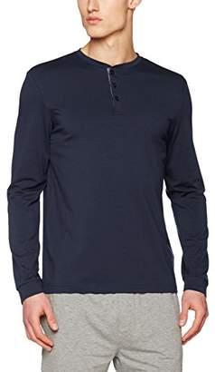 Burton Menswear London Men's Premium Modal Grandad Pyjama Top,Small