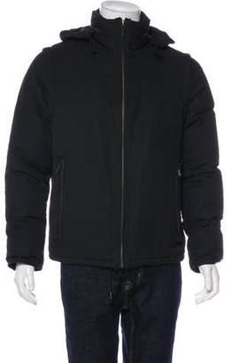 Maison Margiela Zip-Accented Twill Virgin Wool Puffer Jacket