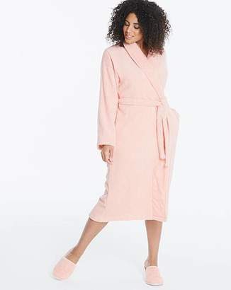 Pretty Secrets Towelling Gown & Slippers L48