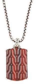 John Hardy Classic Chain Collection Pendant Necklace