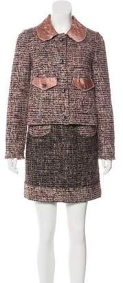 Dolce & Gabbana Tweed Dress Set
