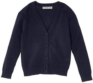 Trutex Girl's Cotton Blend Cardigan,(Manufacturer Size: Small)