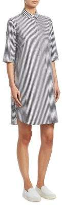 Akris Punto Stripe Shirt Dress