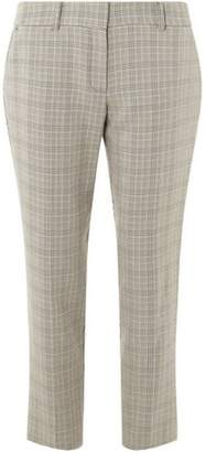 Dorothy Perkins Womens Multi Colour Heritage Check Ankle Grazer Tapered Leg Trousers