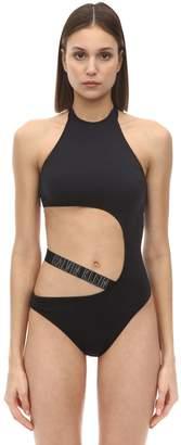 Calvin Klein One Piece Lycra Swimsuit W/ Side Cut Out