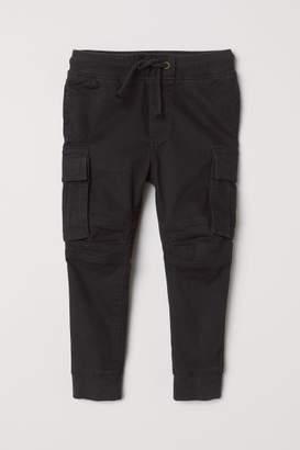 H&M Cargo Pants - Black