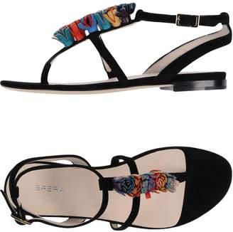 Brera Toe strap sandals - Item 11396942
