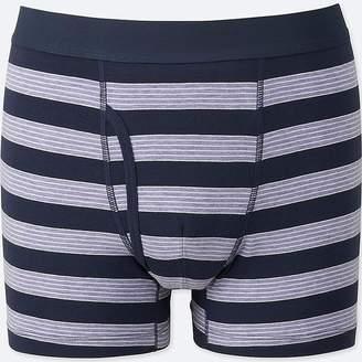 Uniqlo Men's Supima Cotton Striped Boxer Briefs