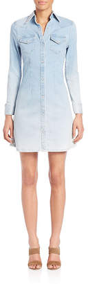 Adriano Goldschmied Adriano Goldschmeid Jacqueline Western Button-Up Shirtdress